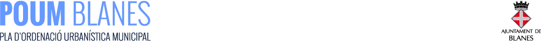 POUM BLANES logo